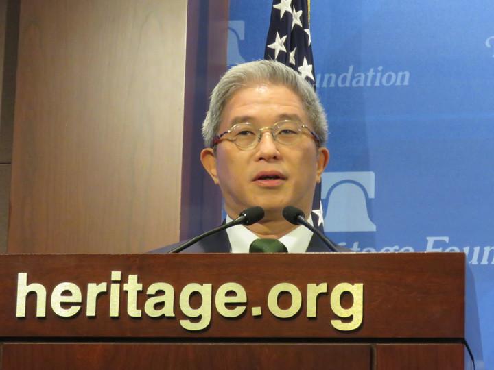 外交部次長徐斯儉。華盛頓記者張加/攝影