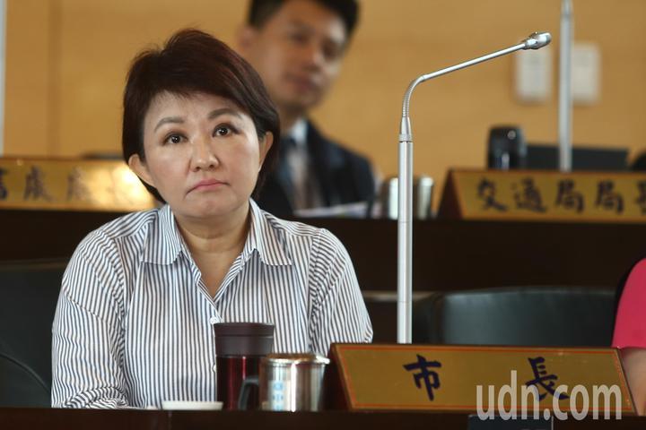 台中市長盧秀燕表示「市民懷不懷念我,無所謂,希望是一名有開工、有建設的市長」。記者黃仲裕/攝影
