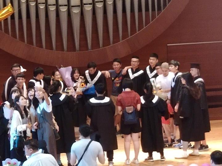 麻豆真理大學「末代」畢業典禮。記者謝進盛/攝影