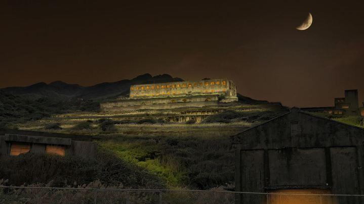 台電和藝術家聯手打造台版「天空之城」,相約9月13日中秋夜一同點亮十三層。圖/台電提供