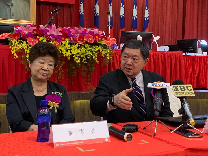 遠東銀行今(19)日舉行股東會,針對合併問題,副董事長徐旭東表示 ,遠銀出生在好家庭,有錢人的家庭,本身條件很好。 記者仝澤蓉/攝影