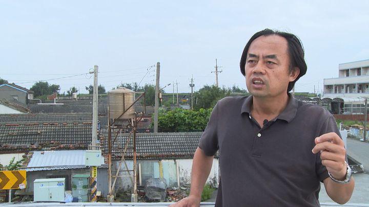 2017年許震唐辭去台北電信工程師的工作,返鄉投入「公民電廠」設置。記者游昌樺/攝影