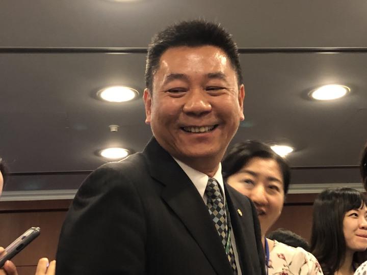 長榮航空副總經理陳耀銘。記者曹悅華/攝影
