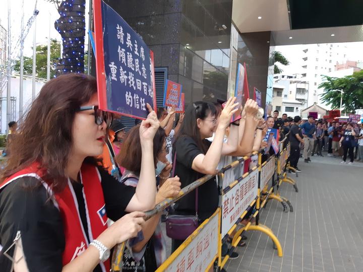 韓粉力挺高雄市長韓國瑜參選總統大選。記者賴郁薇/攝影