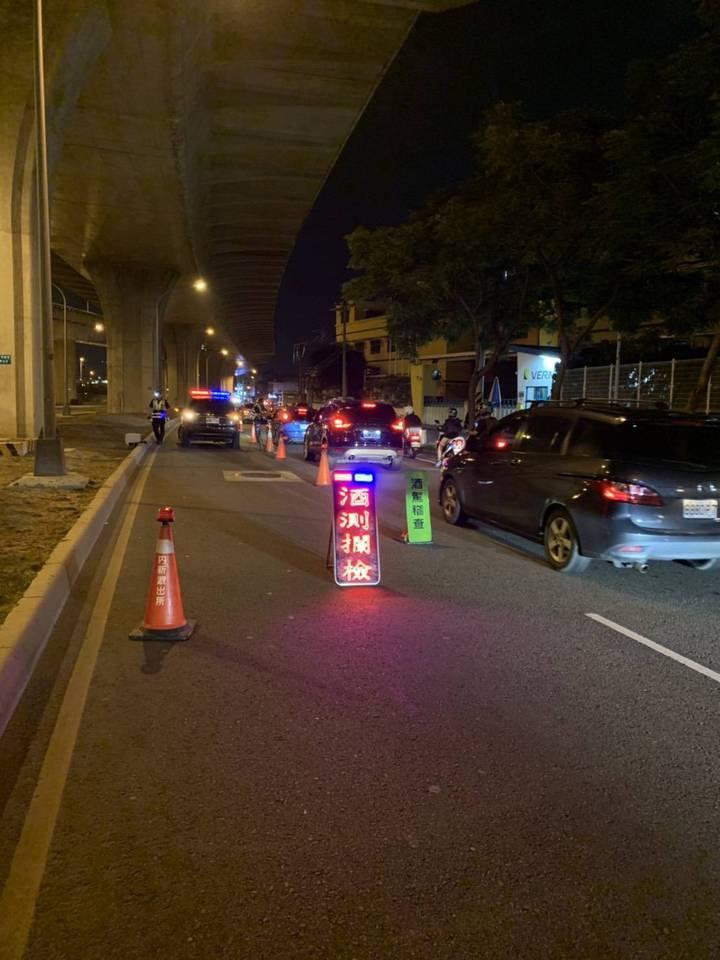 台中市南區14日發生一起酒駕撞死晨運老婦的交通事故,台中市警局強調酒駕零容忍的執法態度。圖/台中市警局提供