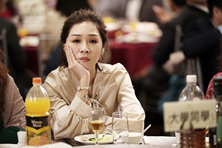 謝盈萱演出「俗女養成記」。圖/華視提供