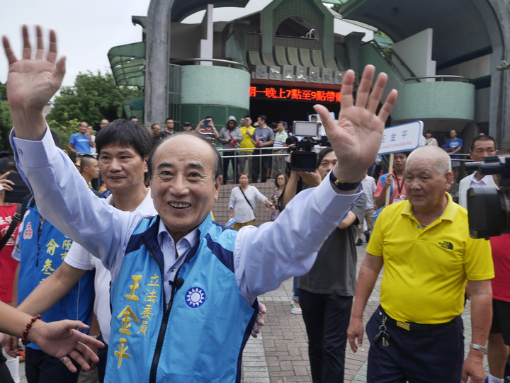 不分區立委提名,是主席比較有影響力還是韓國瑜比較有影響力?王金平說,當然是主席,但如果能參考韓國瑜的意見的話,那也是好事。記者吳淑君/攝影
