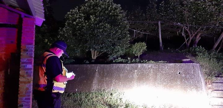 新埔分局自7月起規劃執行「護農勤務」,主動規劃巡邏線及設置臨時巡邏箱,於深夜等重點時段加強巡邏守望。圖/新埔警分局提供