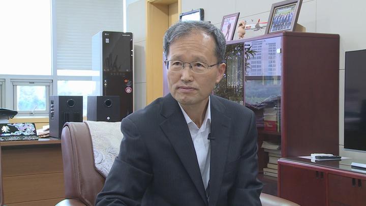韓國AREX CEO Kim Han Young 分享韓國鐵道經營經驗。記者王彥鈞/攝影