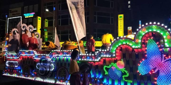 傳承165年不輟的鷄籠中元祭,今天晚間在基隆市區進行重頭戲「放水燈遊行」。記者游明煌/翻攝