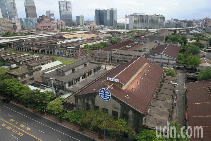 台北機廠。記者潘俊宏/攝影