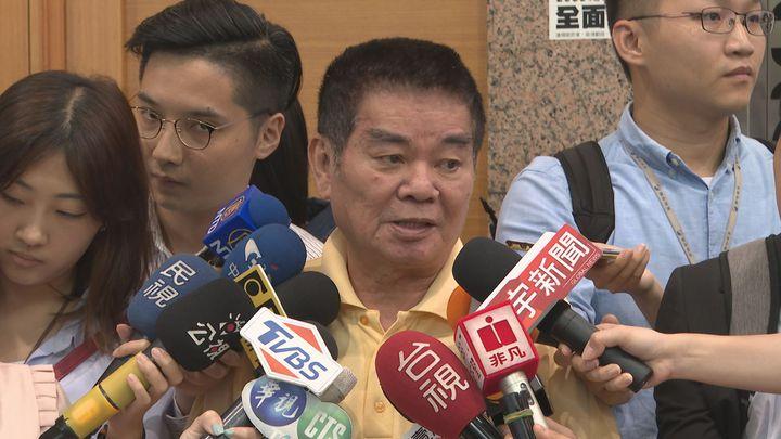 國民黨中常委姚江臨表示,「絕對不會換瑜」,更嗆說如果存有這種幻想的人,「做夢也該醒了」。記者顏凱勗/攝影
