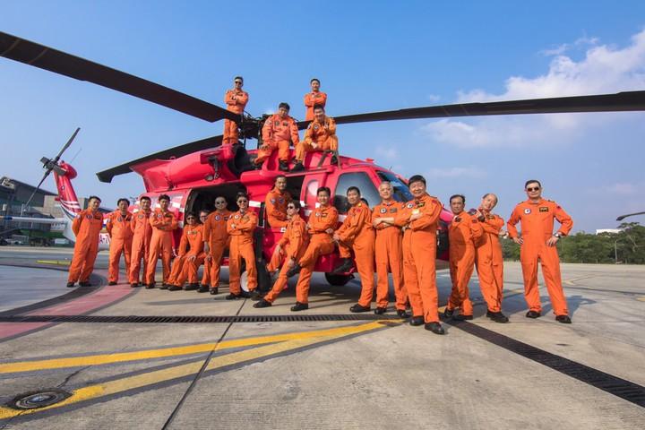 空勤總隊勤務第二大隊第三大隊,成立三年。圖/空勤總隊提供
