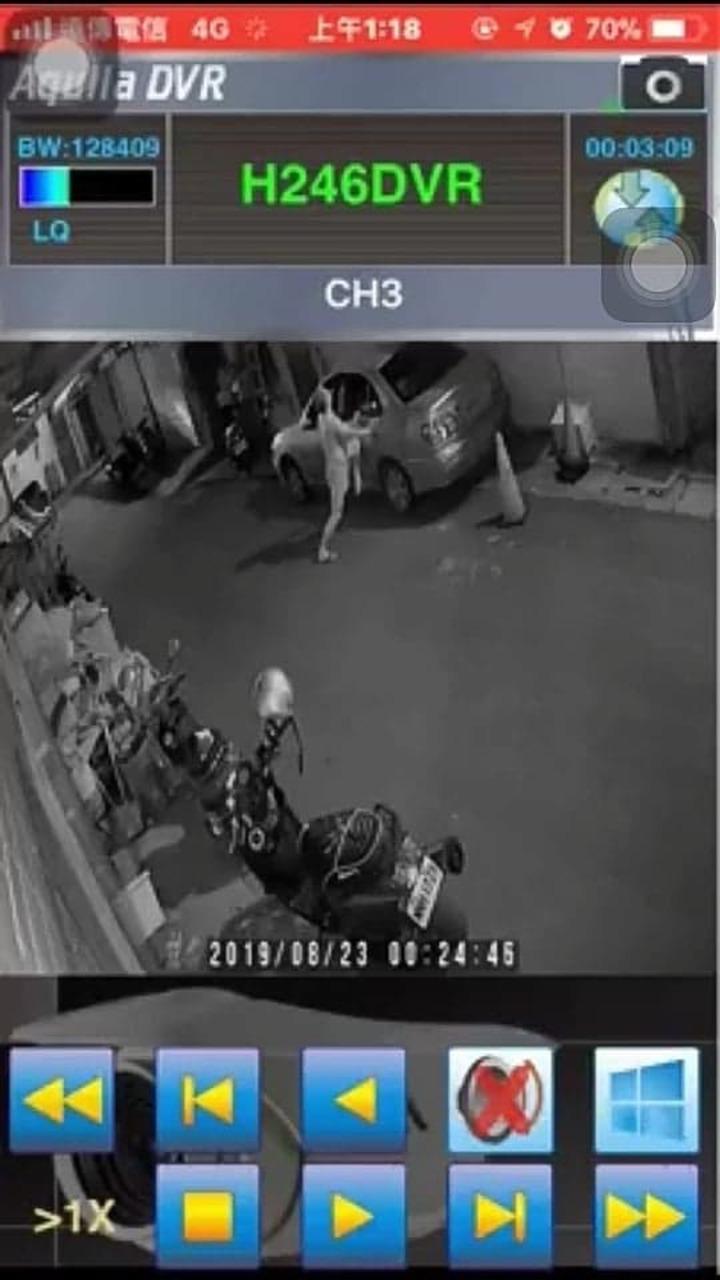 在門口抽煙的蔡姓車主發現後,死命以全身的力量壓住車門,將男子困在車內,並伺機報警。記者高宇震/翻攝