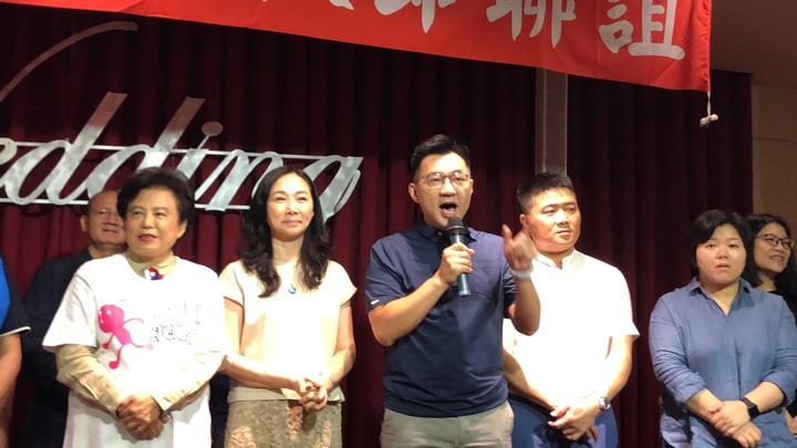 立委江啟臣說,國民黨如果無法重返執政,就不能撥亂反正。記者陳秋雲/攝影