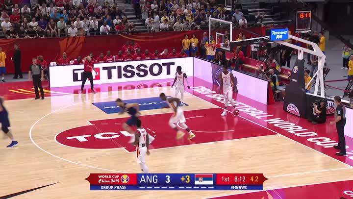 2019籃球世界盃- 塞爾維亞 vs. 安哥拉 (8月31日)