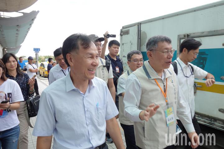 台北市長柯文哲說,斷交事件是這樣子,北京政府現在是完全不顧慮台灣人民的感受,所以兩岸關係僵局越來越嚴重,已經到了不可逆的決裂點。記者邱瓊玉/攝影
