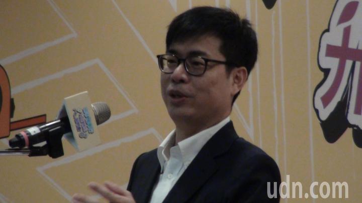 行政院副院長陳其邁說,為故鄉努力做事情,是他終身一輩子的職責,不管做任何工作,心都在高雄。記者謝梅芬/攝影
