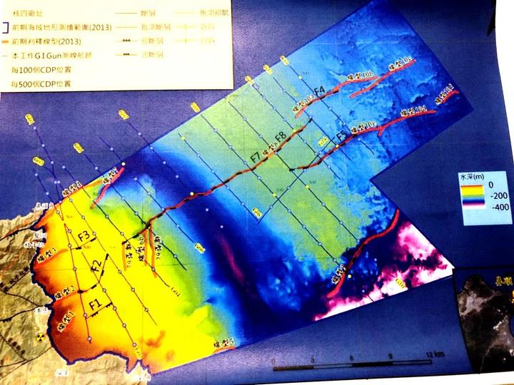 核四海域有活動斷層?學者轟地調所隱匿資料。記者賴于榛/攝影