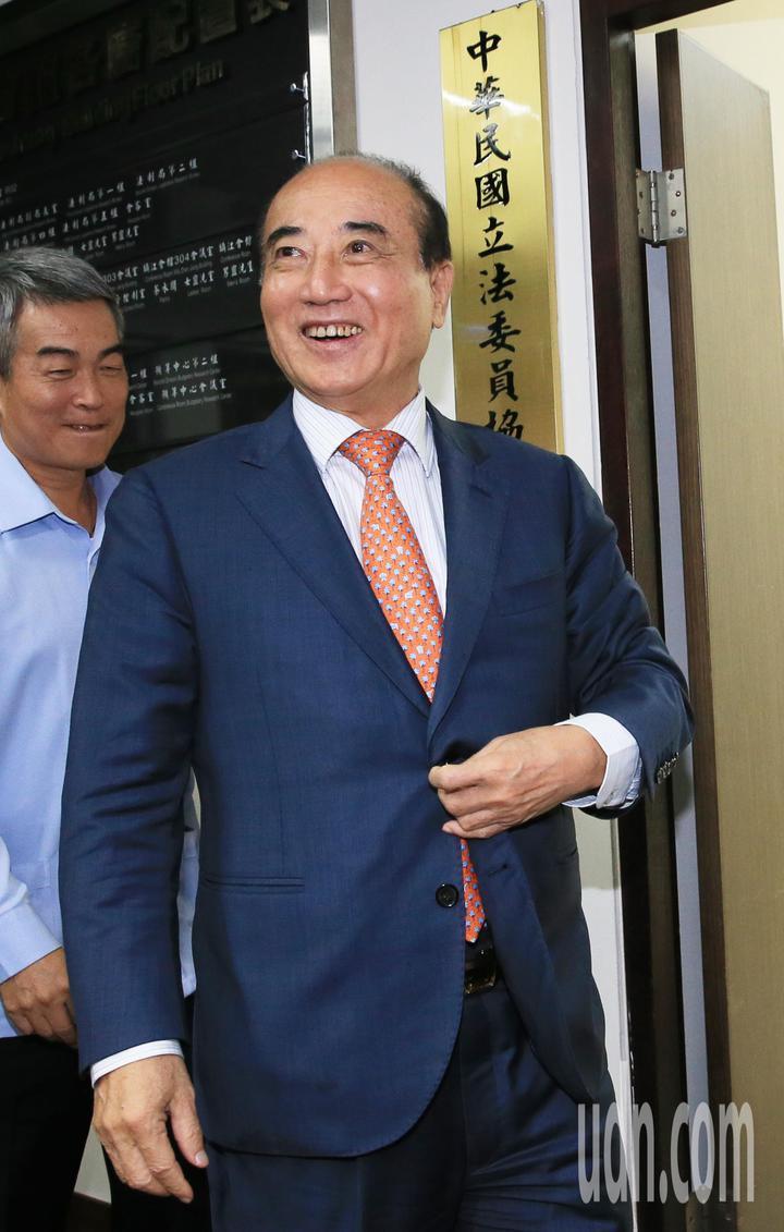 立法院前院長王金平。記者潘俊宏/攝影