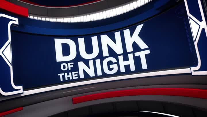 今日最佳灌籃- Derrick Jones Jr. (10月9日)